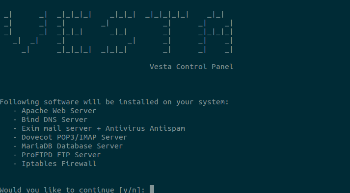How to install Vesta control panel in RHEL 7 or Centos 7