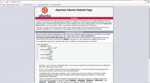 apache3 ubuntu default