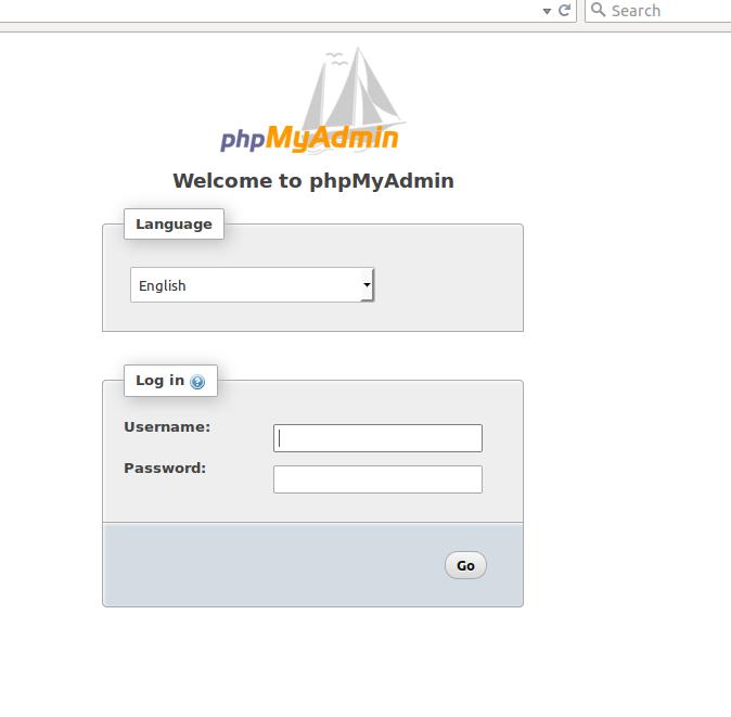 php-myadmin-login