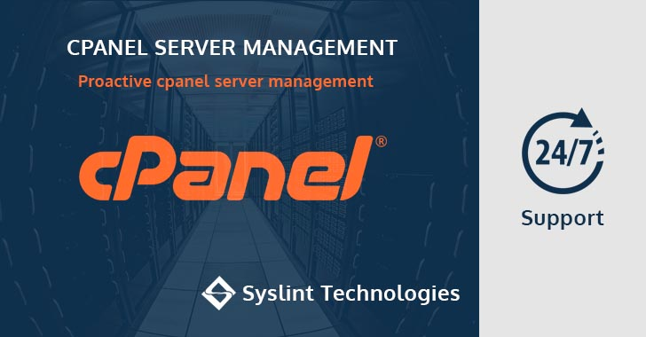 proactive cpanel server management