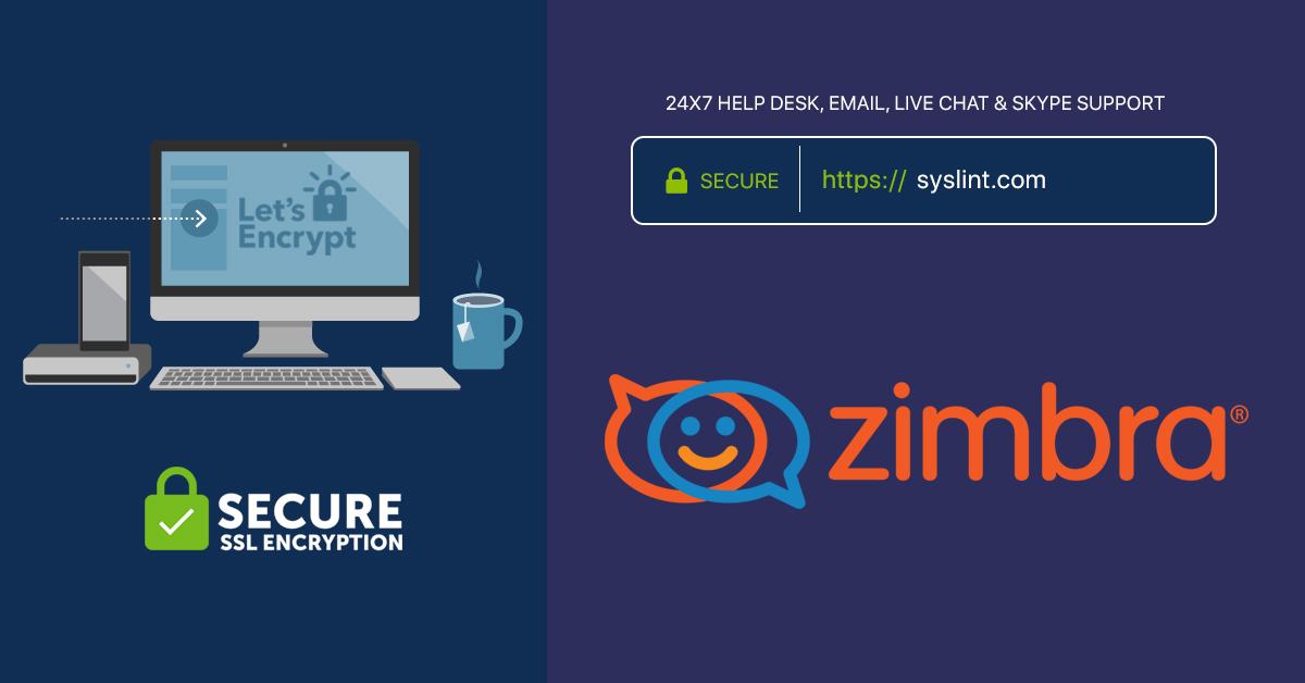Zimbra-lets-encypt