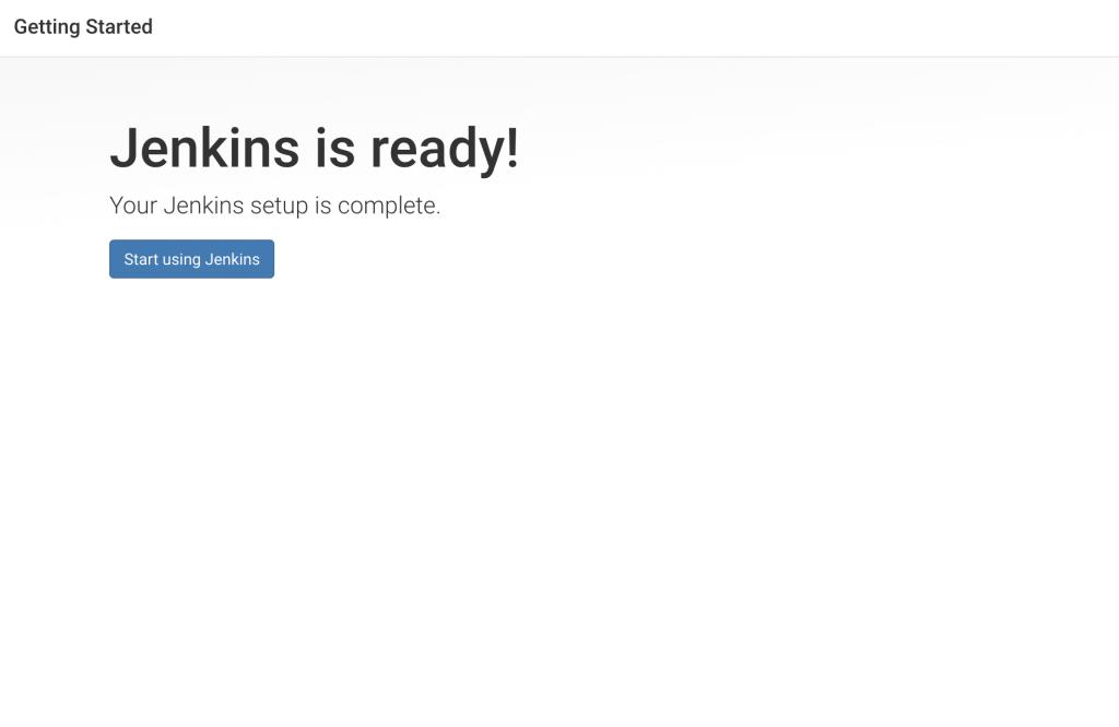 Jenkins Ready